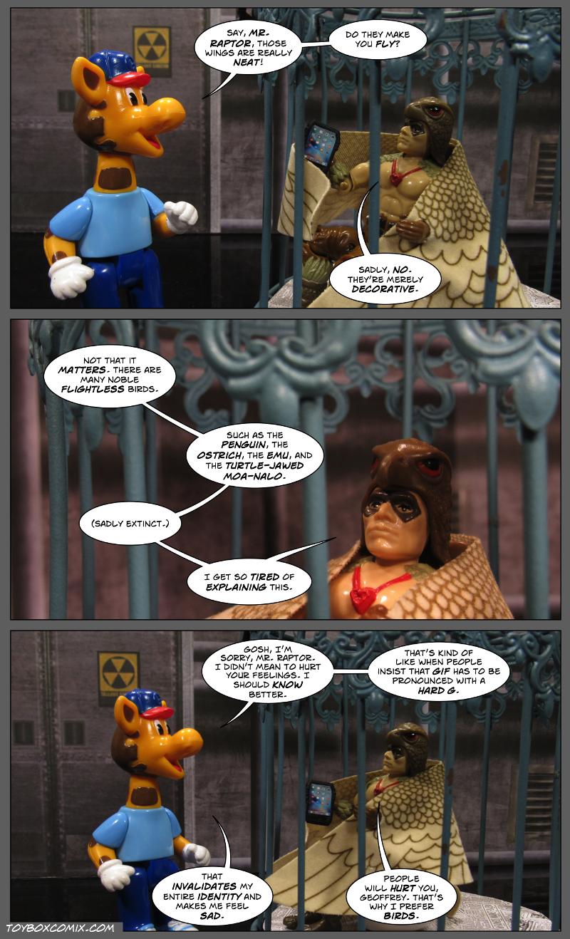Don't Make Geoffrey Sad