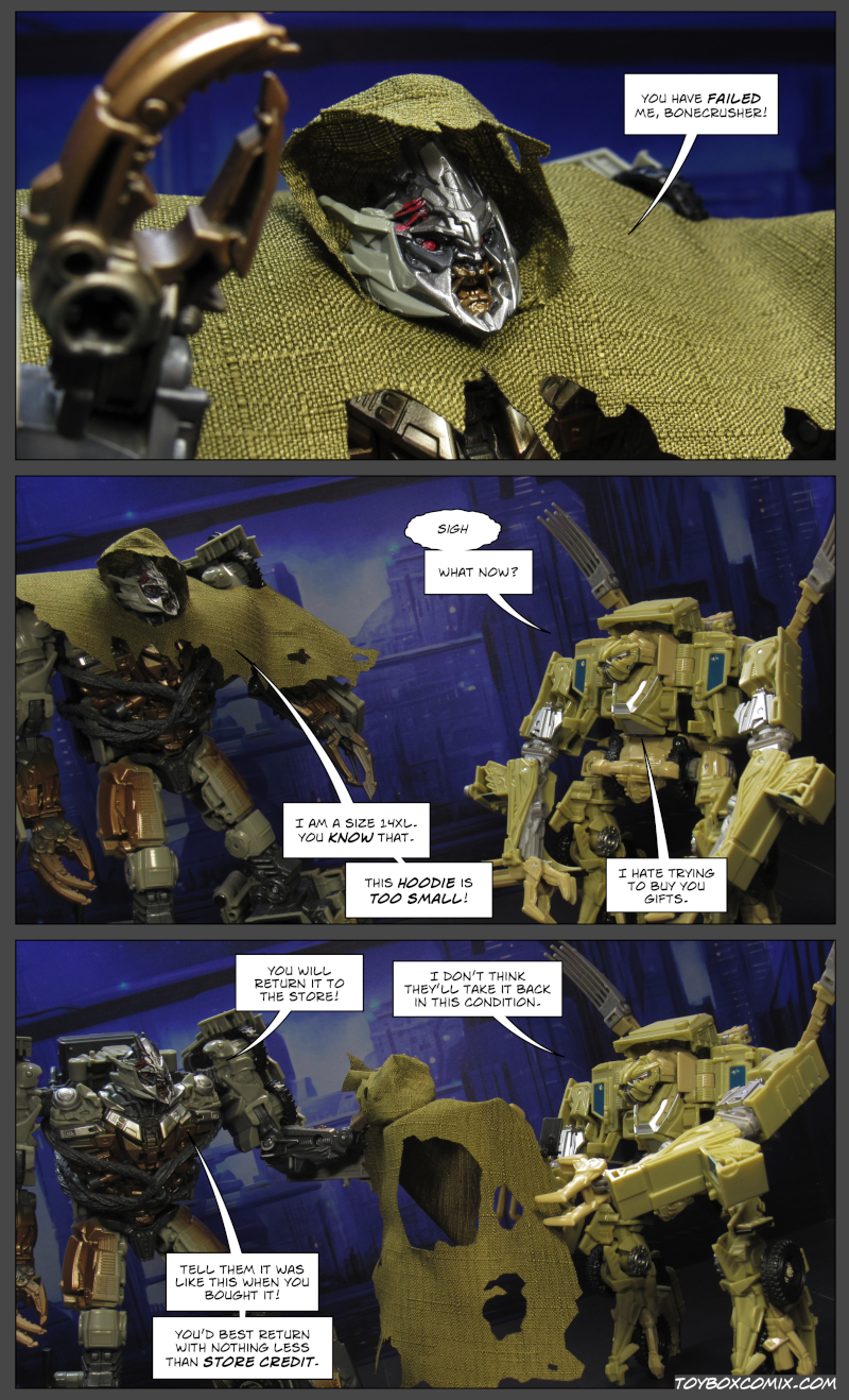 Bonecrusher Hates This Comic