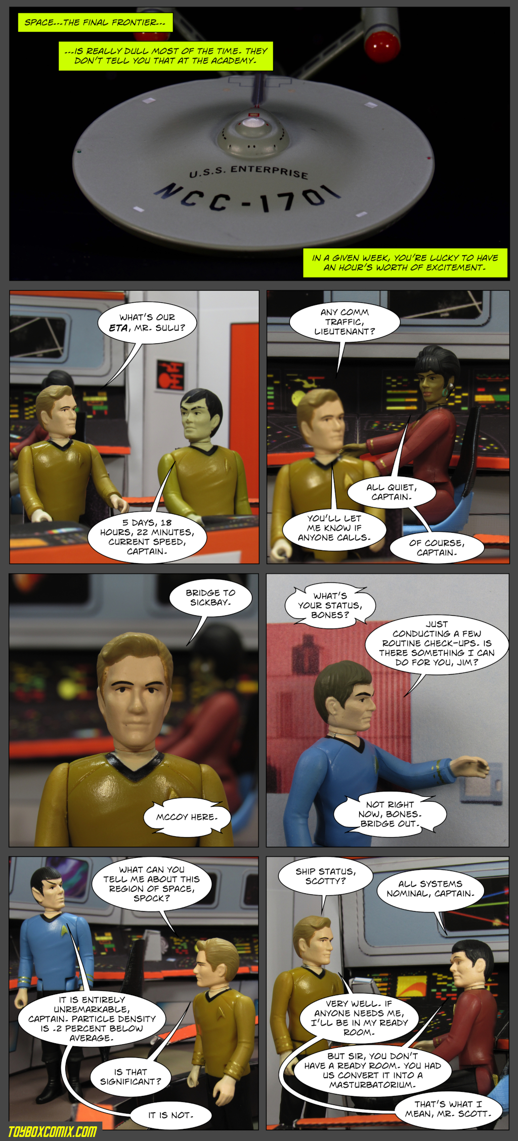 Kirk's Ready Room