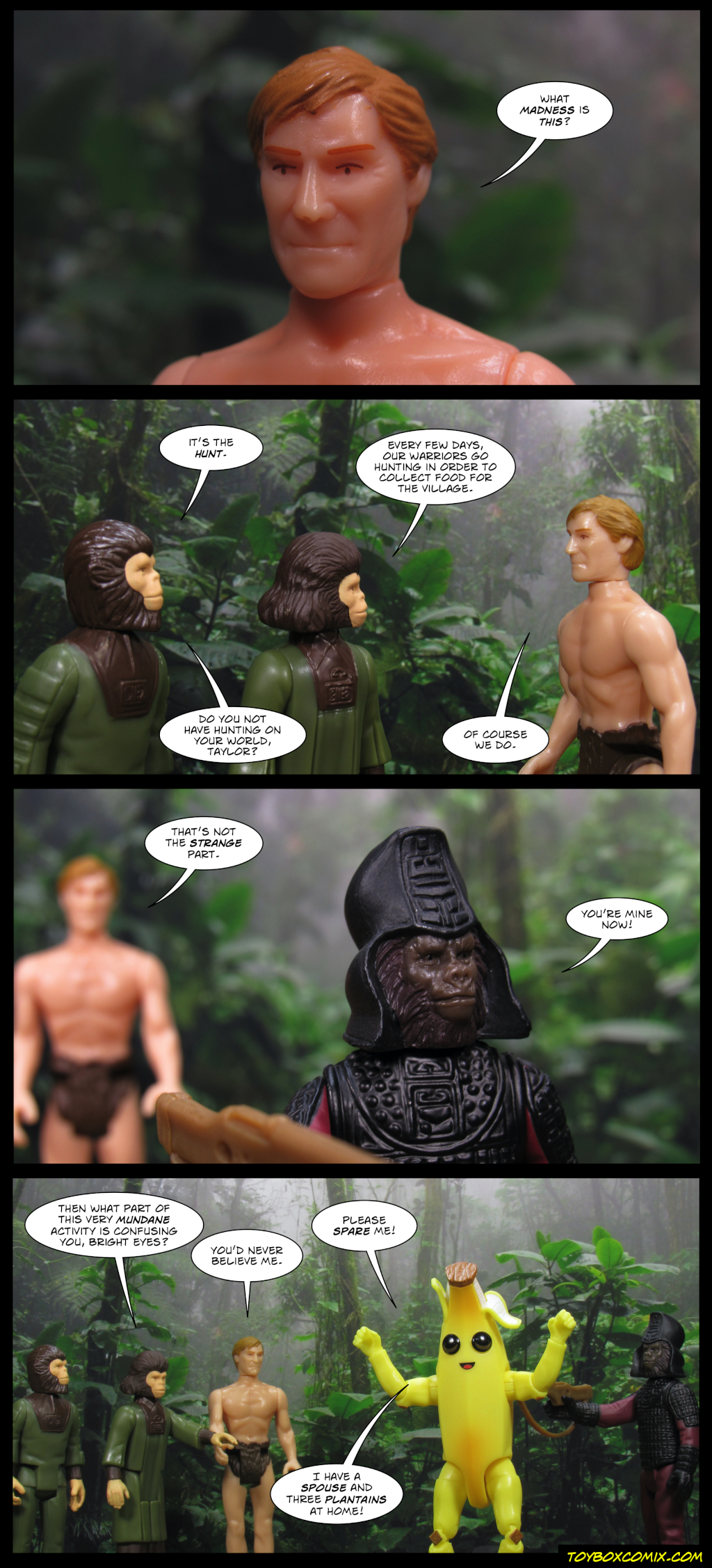 Hunt on the Planet of the Apes
