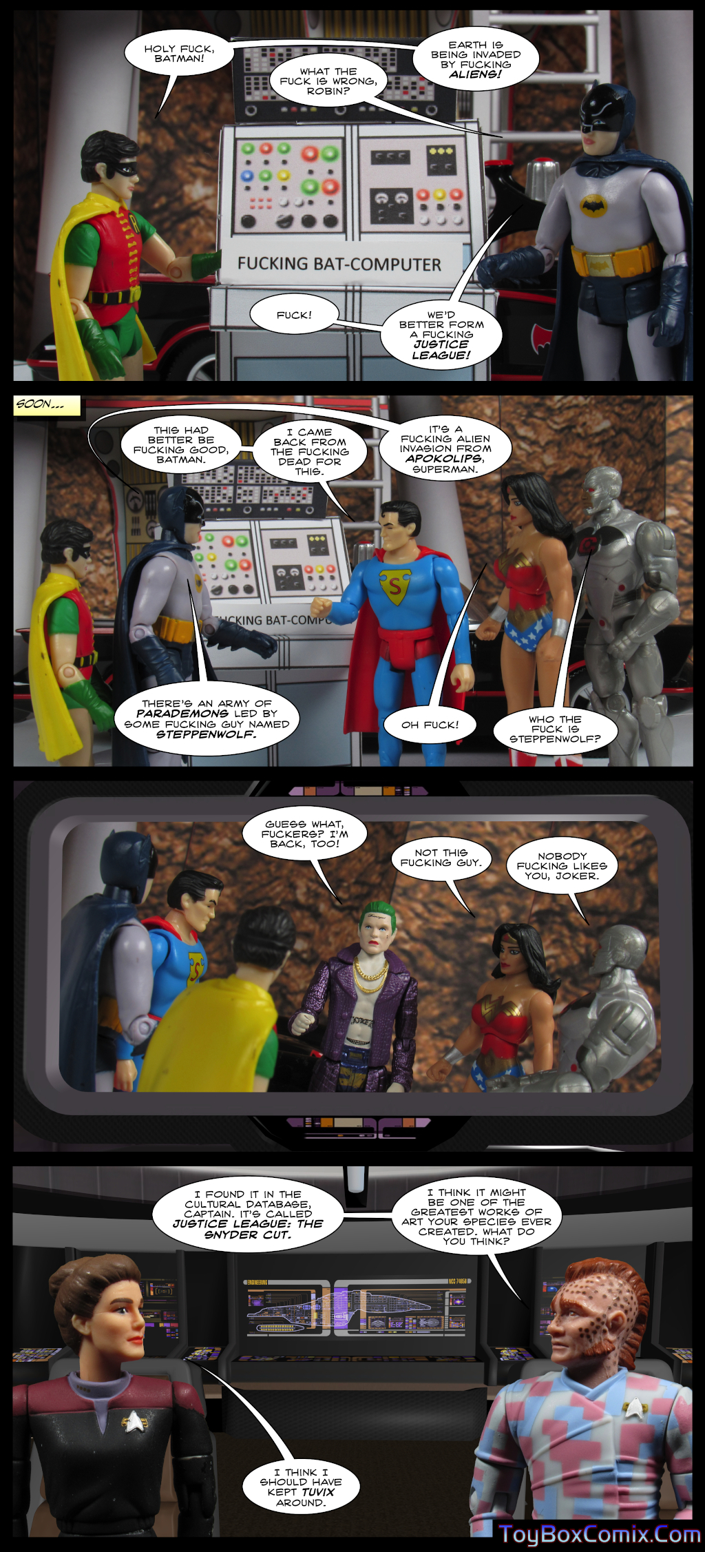 A Superhero Story For Adults
